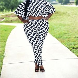 Pants & Jumpsuits - 2  piece cape set